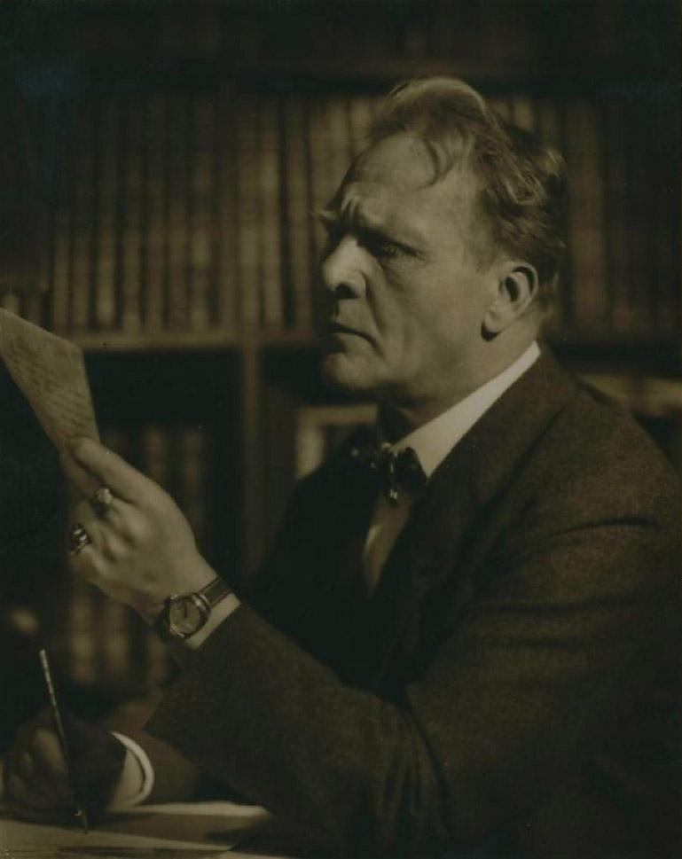 Федор Шаляпин, 1930, фотограф Эмиль Маркович