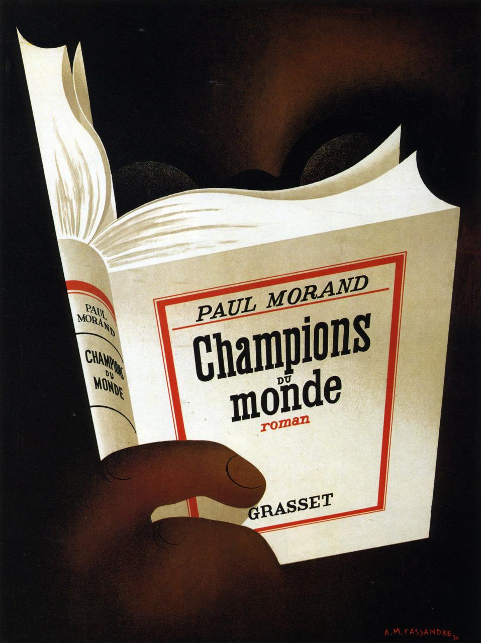 А.М. Кассандр. Champions du Monde, 1930