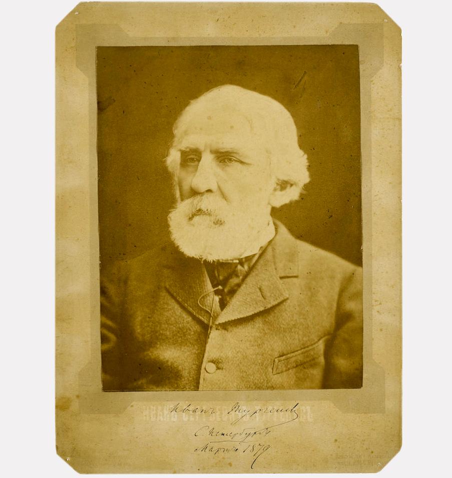 Фотография Ивана Тургенева, 1879, фотограф К.А. Шапиро