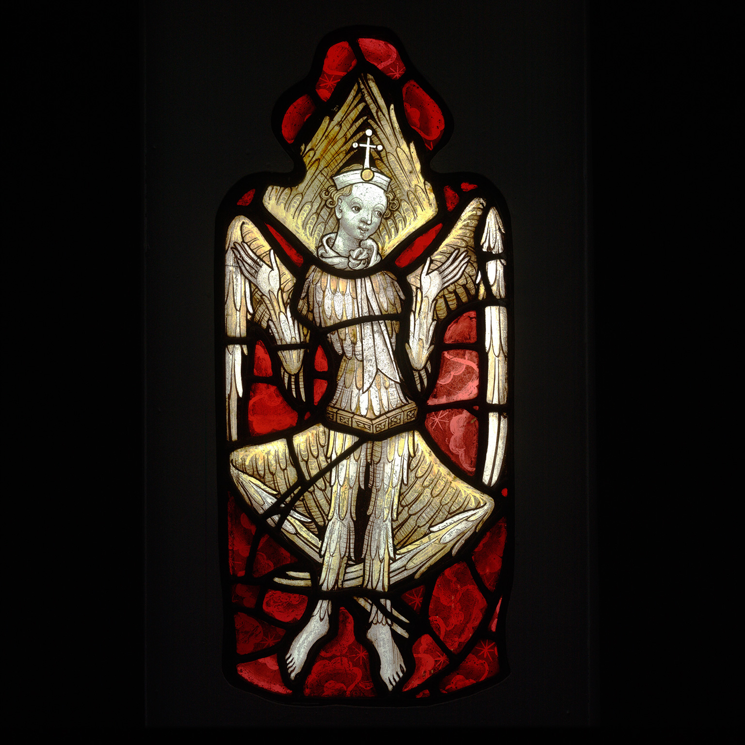 Витраж с серафимом (Stained glass seraph)