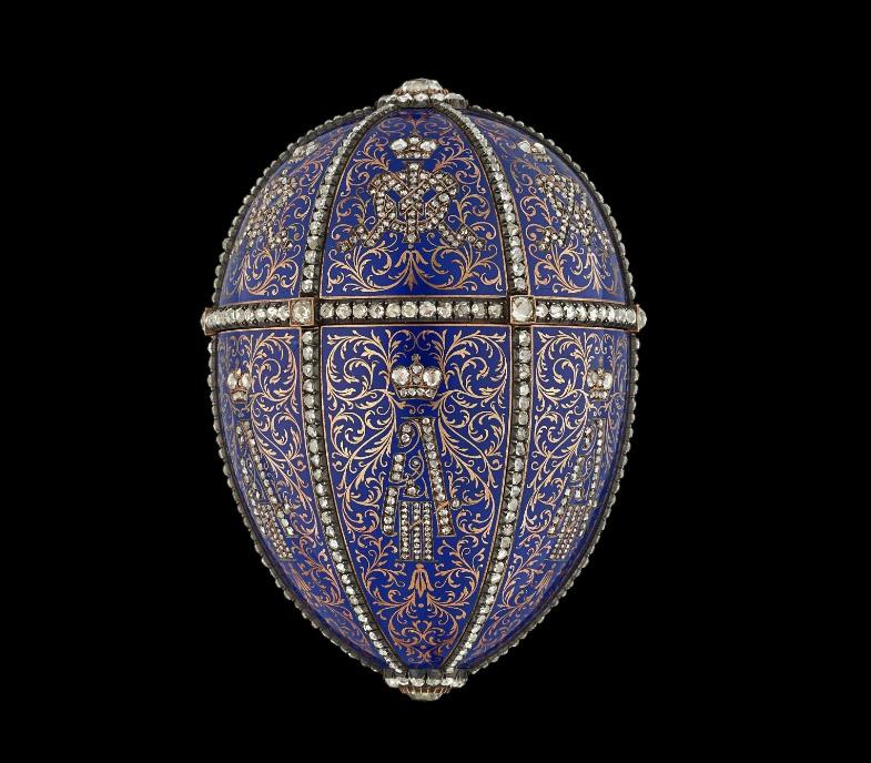 Яйцо Fabergé «Портреты Александра III»