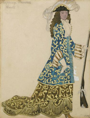 Лев Бакст, 1921 / Дизайн костюма для «Спящей красавицы»: барон / £15,000-£20,000