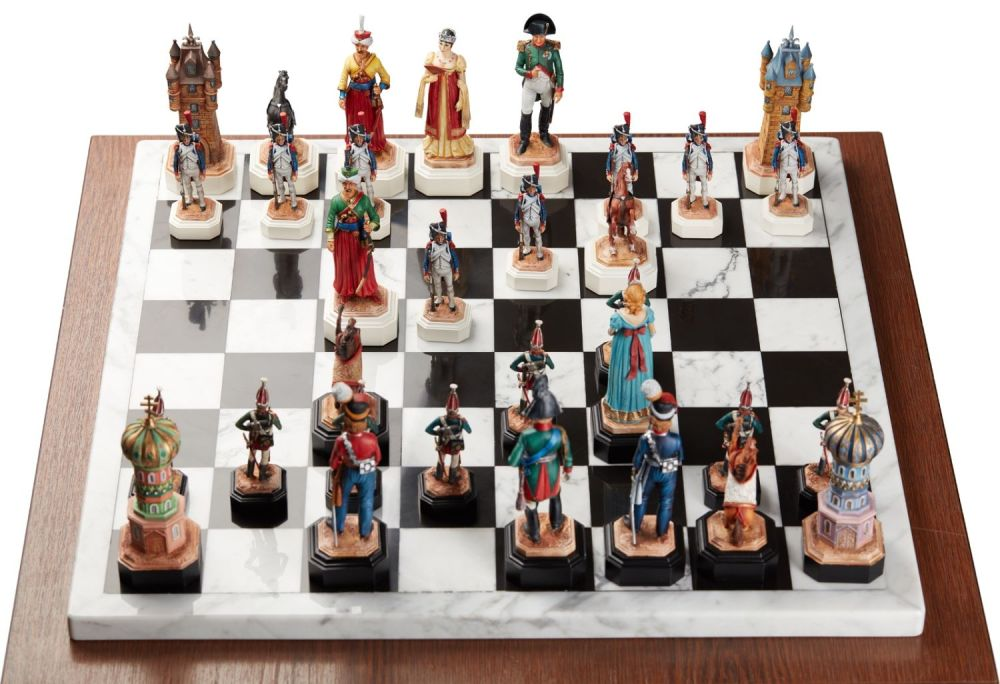 Шахматный набор. Александр I и Наполеон: Россия против Франции в 1812 году