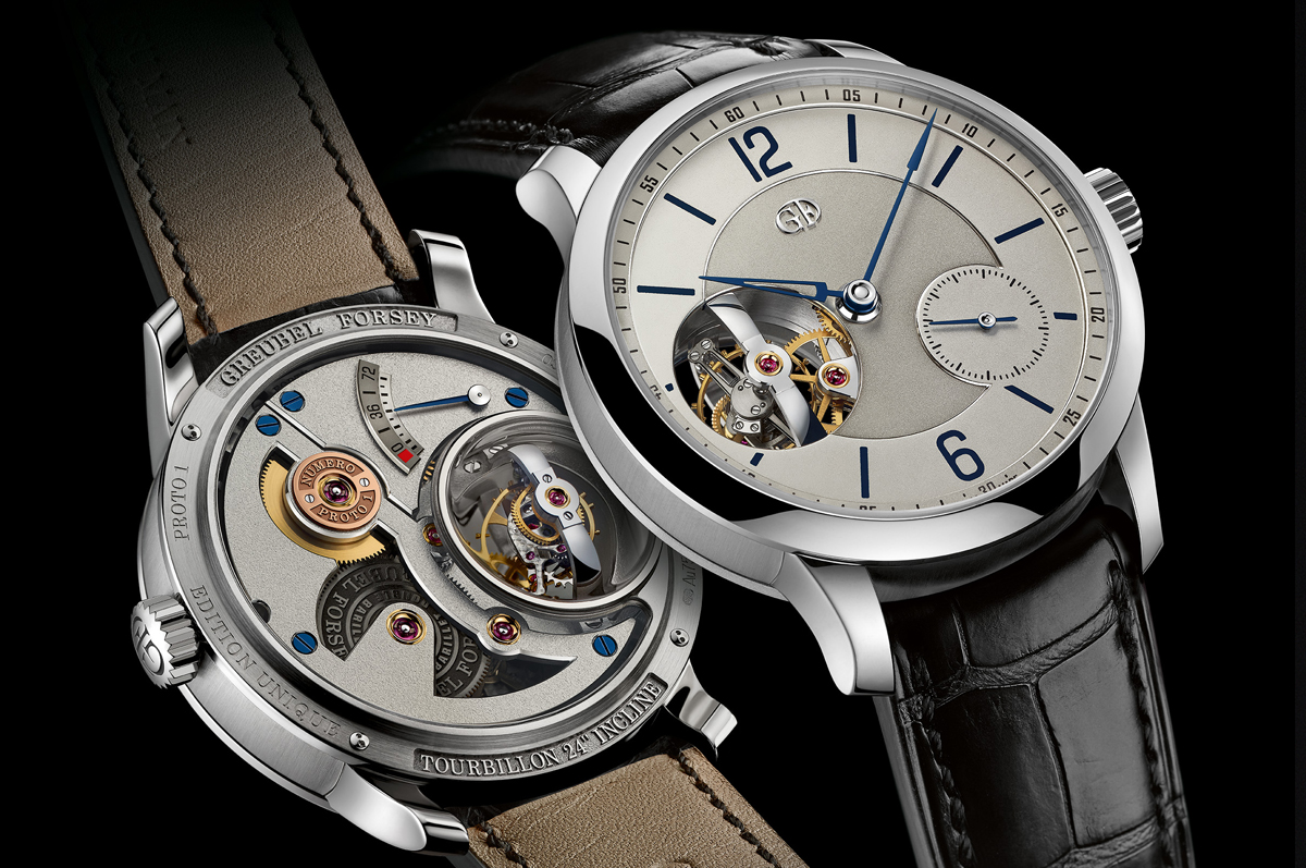 Greubel Forsey / «Tourbillon 24 Secondes Inclined Vision»