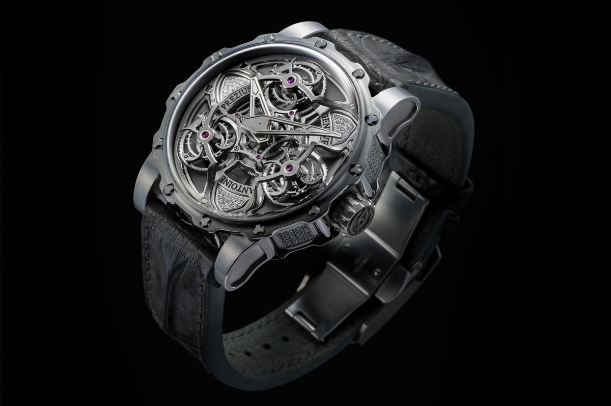 Antoine Preziuso / «Tourbillon of Tourbillons»