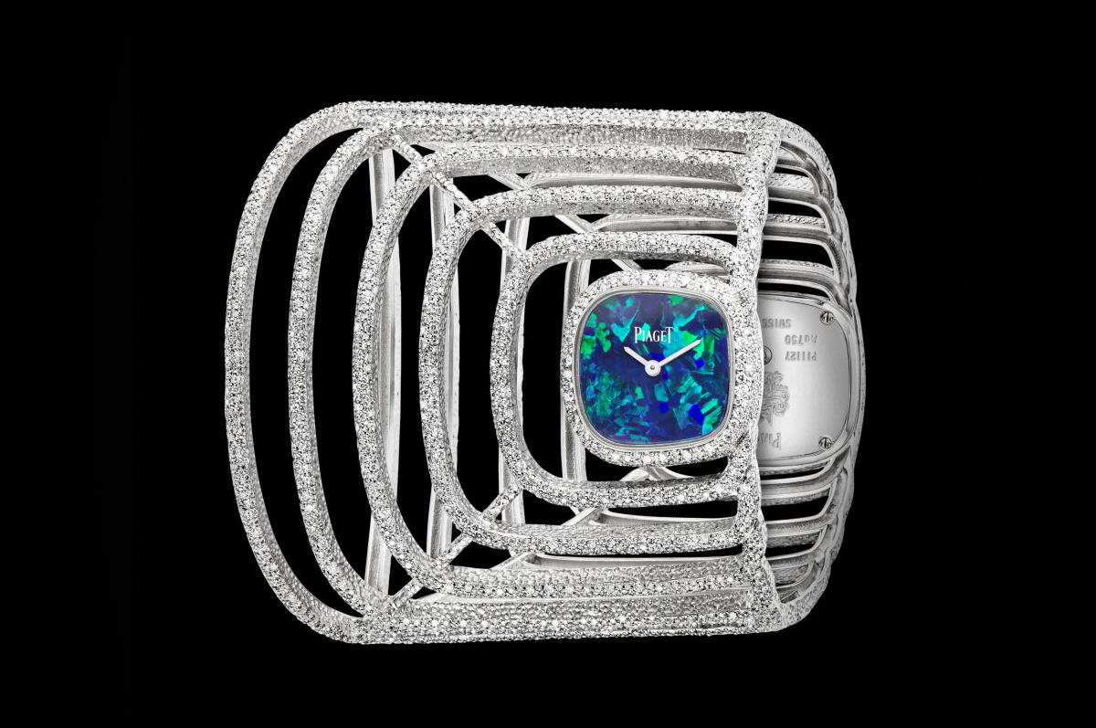 Piaget / «Extremely Piaget Double Sided Cuff Watch»