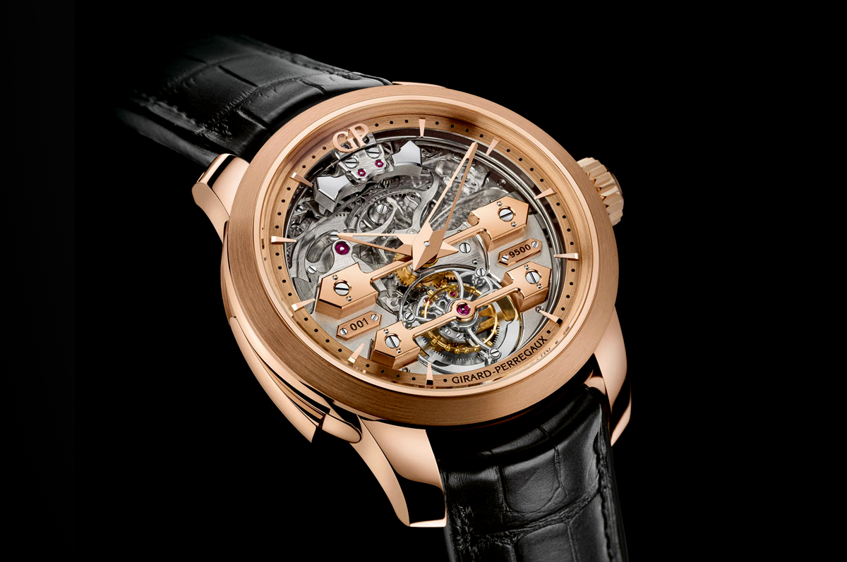 Girard-Perregaux / «Minute Repeater Tourbillon with Gold Bridges»