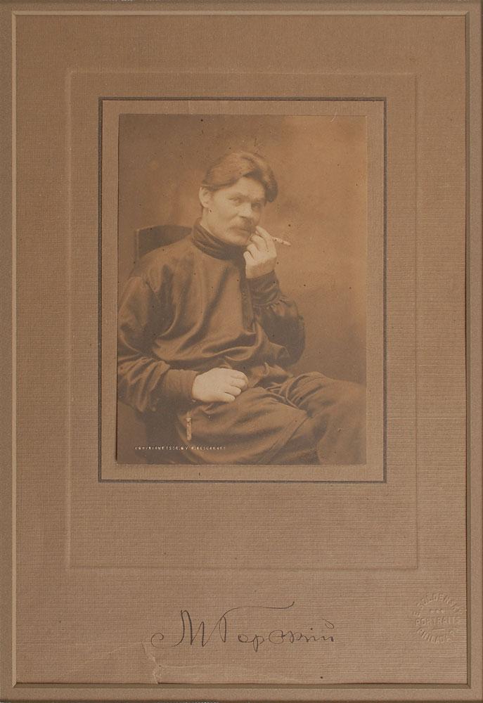 Фотография Максима Горького, Филадельфия, 1906