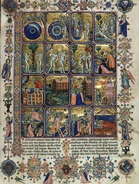 «Библия Гамильтона», ок. 1350