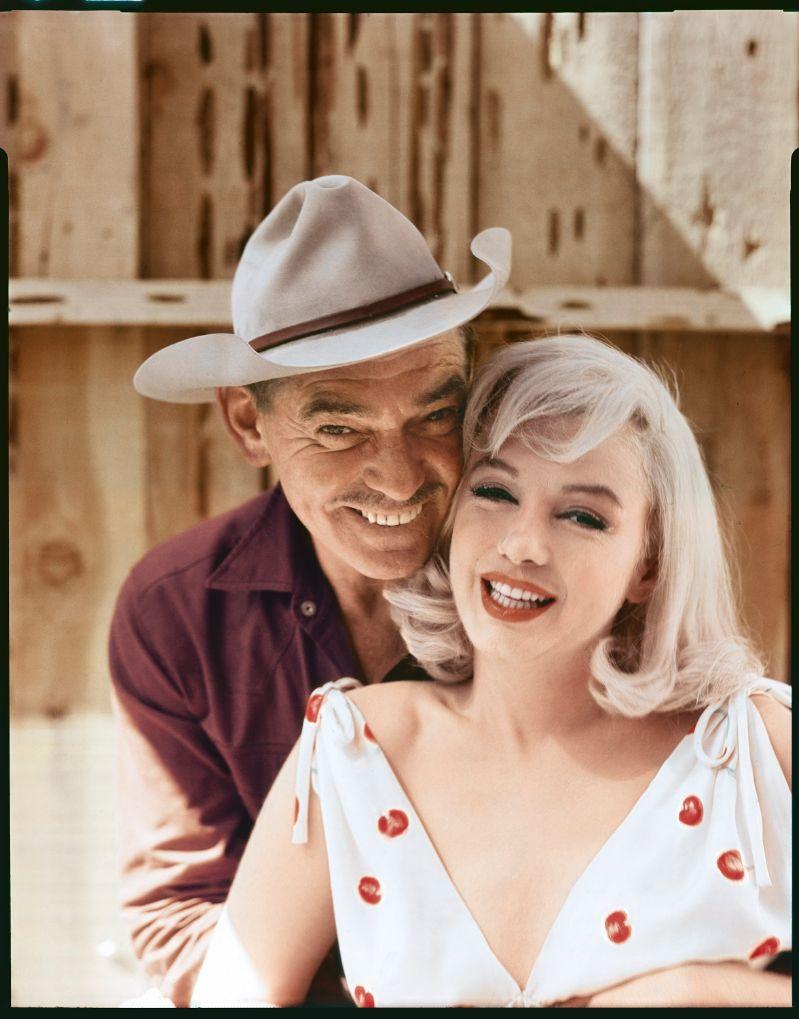 Эллиотт Эрвитт. Кларк Гейбл и Мэрилин Монро. Невада, 1960