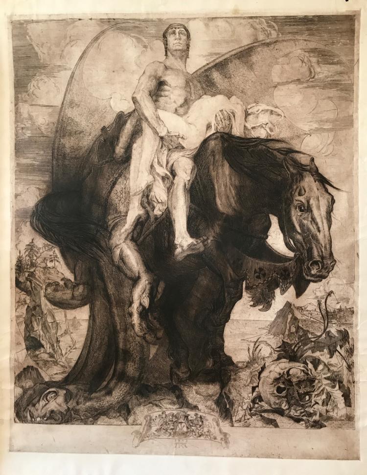 Михаил Курилко. Победитель и жизнь, 1913