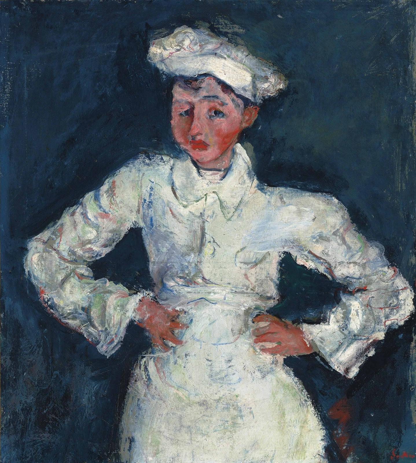 Хаим Сутин. Маленький кондитер, 1927
