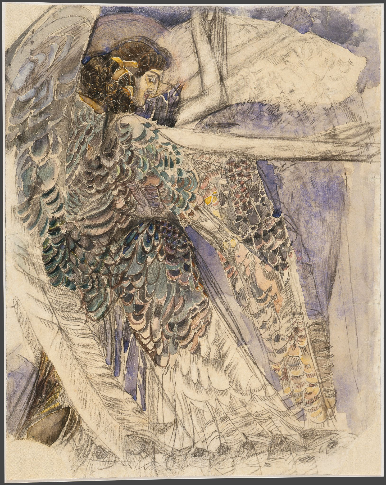 Михаил Врубель. Серафим, 1904-1905