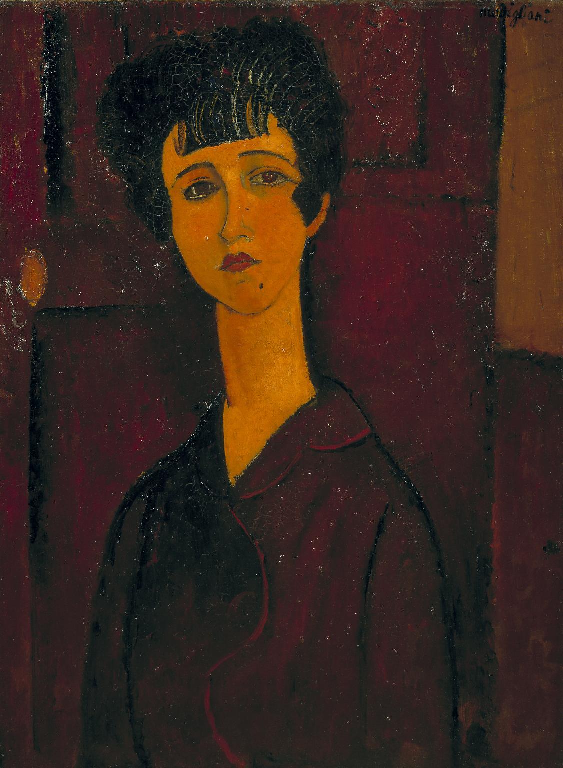 Амедео Модильяни. Портрет девочки, 1917