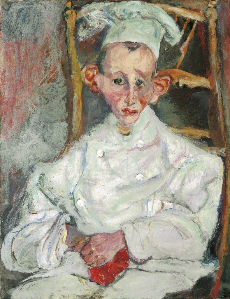 Хаим Сутин. Кондитер из Кань, 1922-1923