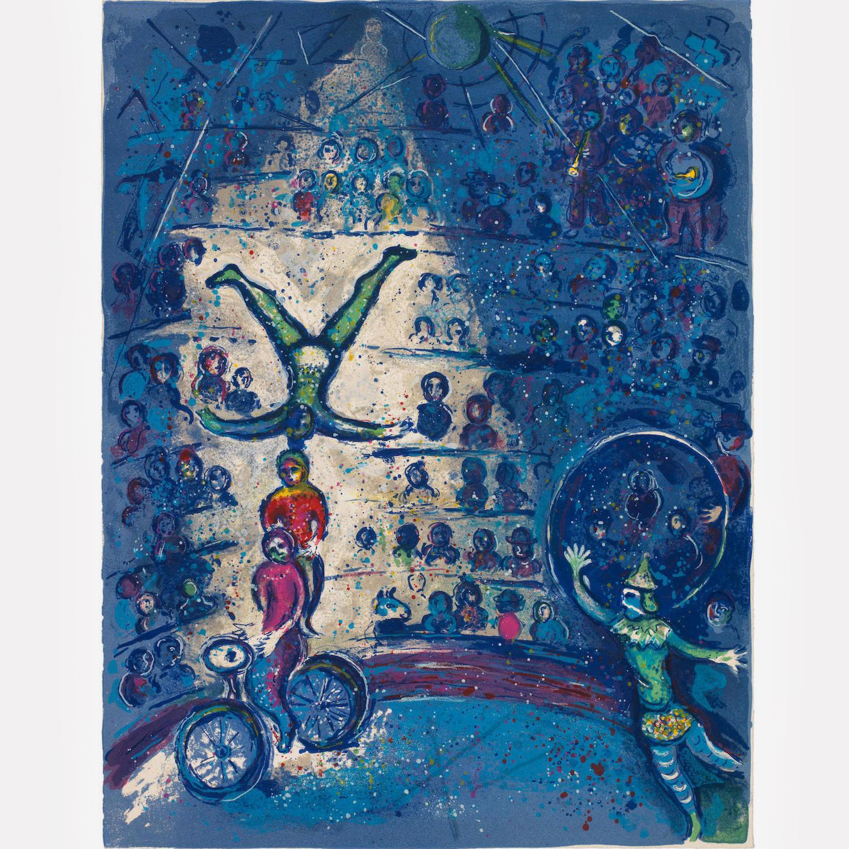 Марк Шагал. Цирк, 1967