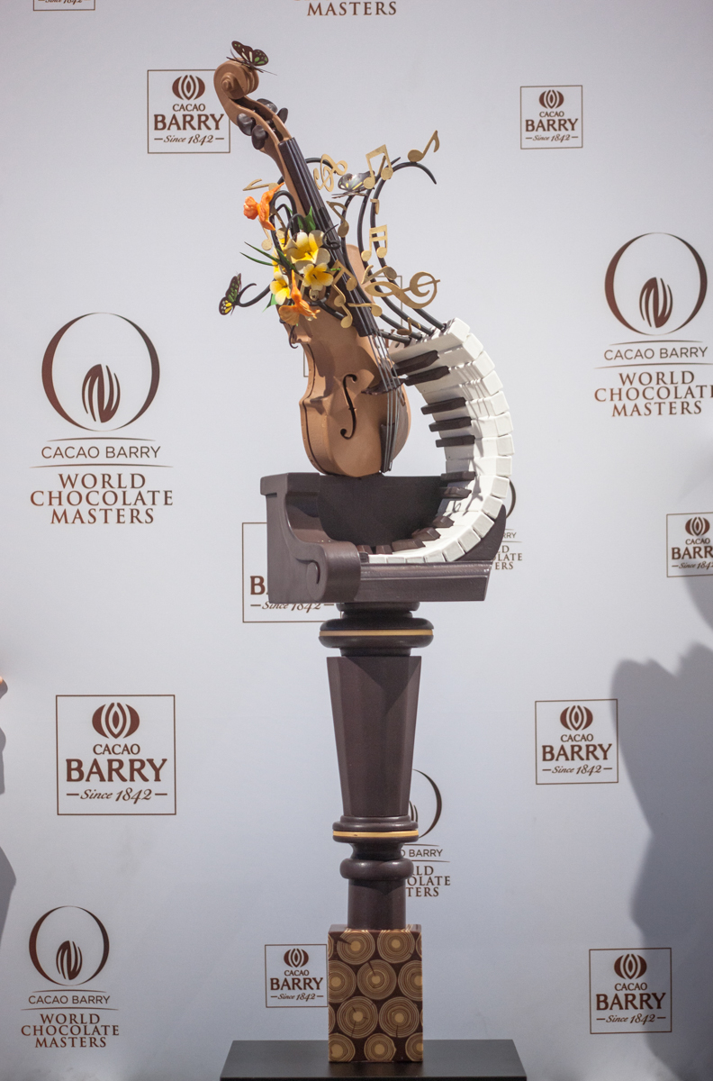 «Sounds of nature» / Андрей Канакин / World Chocolate Masters 2015