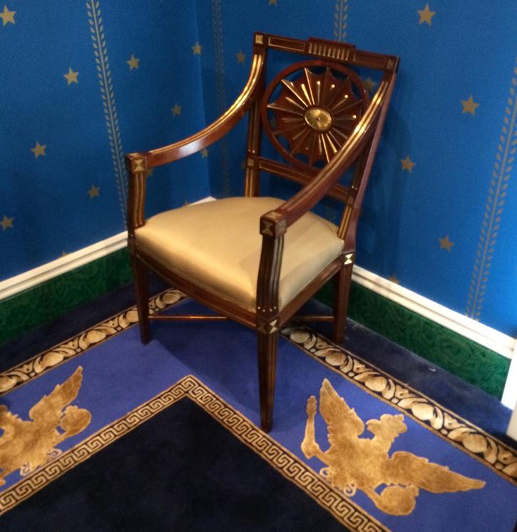 Интерьер комнаты частного музея The David Roche Foundation