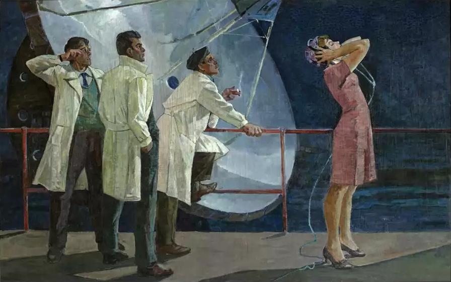 Владимир Нестеров. Земля слушает, 1965