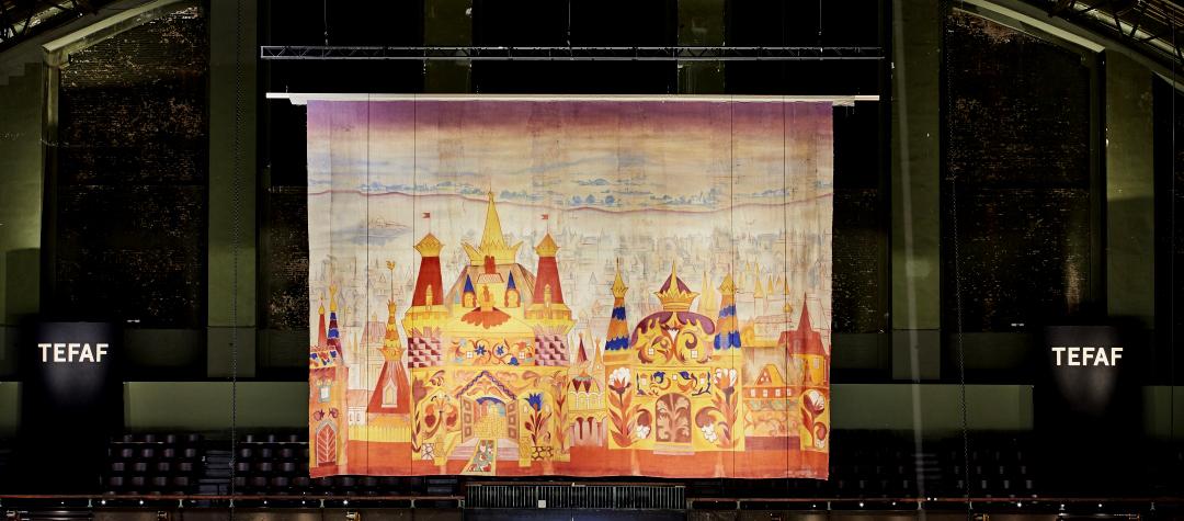 Декорации Натальи Гончаровой к спектаклю «Золотой петушок»