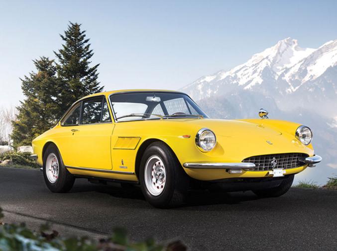 1968 Ferrari 330 GTC by Pininfarina