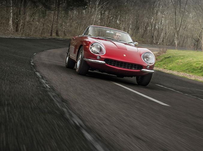 1968 Ferrari 275 GTS/4 NART Spider by Scaglietti