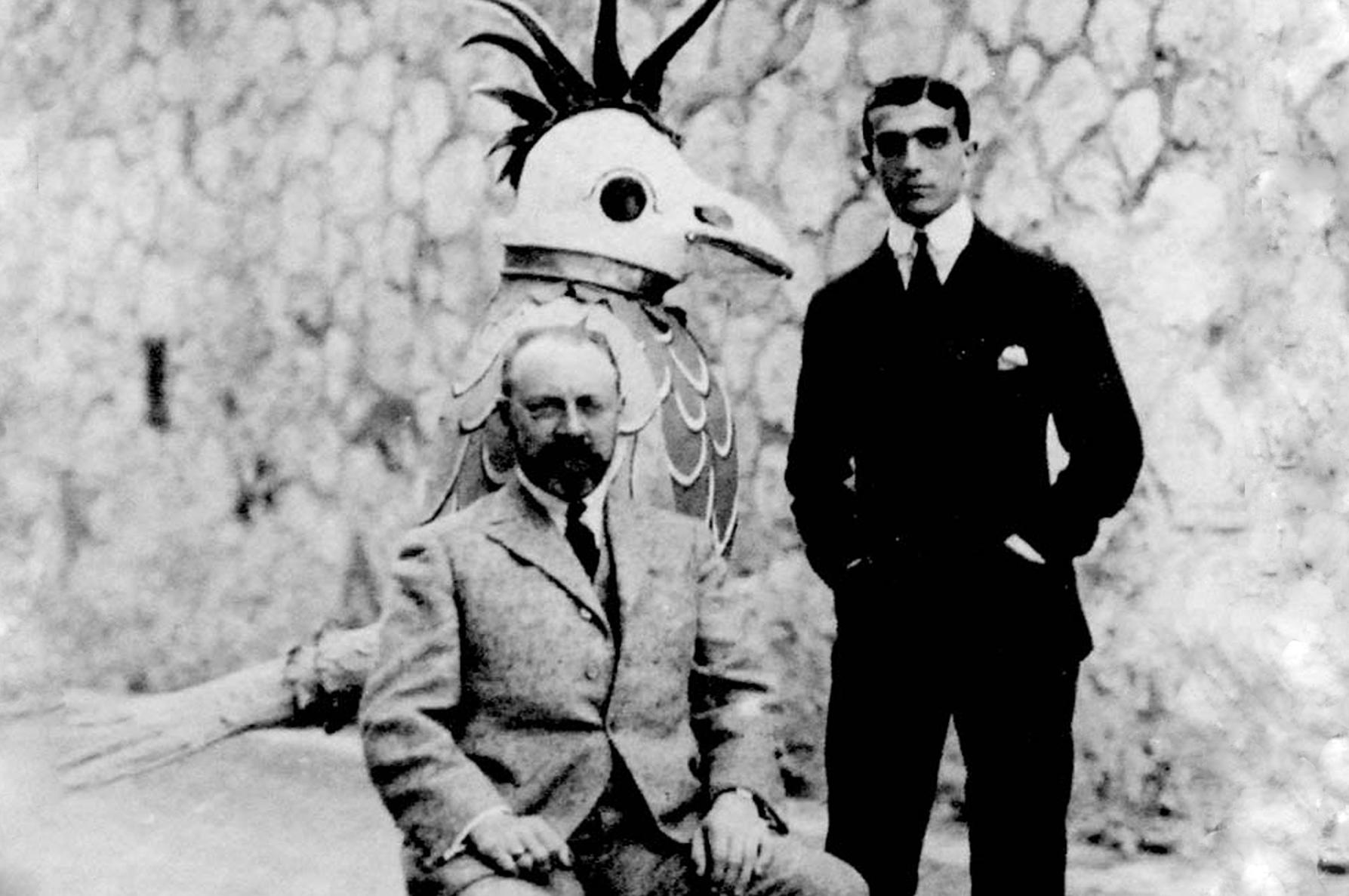 Анри Матисс и Леонид Мясин в Монте-Карло, 1920.
