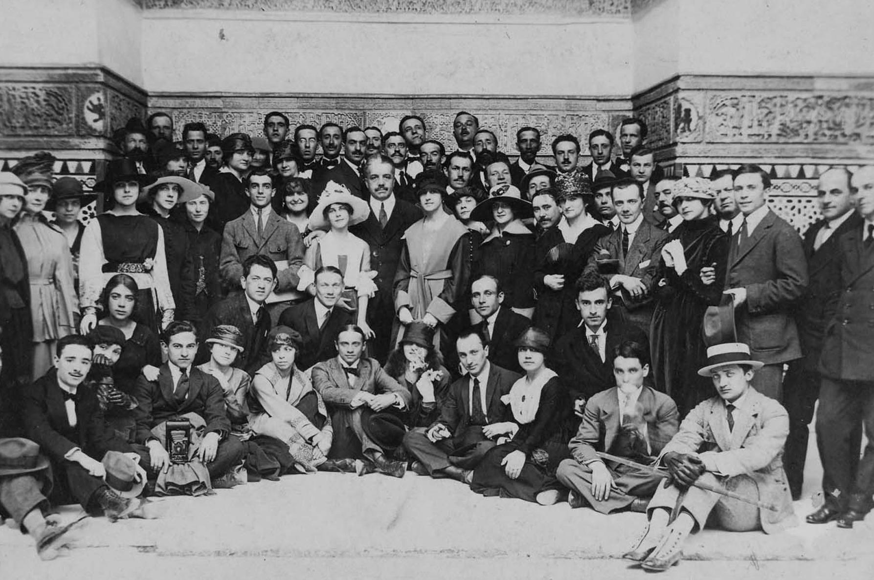 «Русские сезоны» в Севилье, 1916.