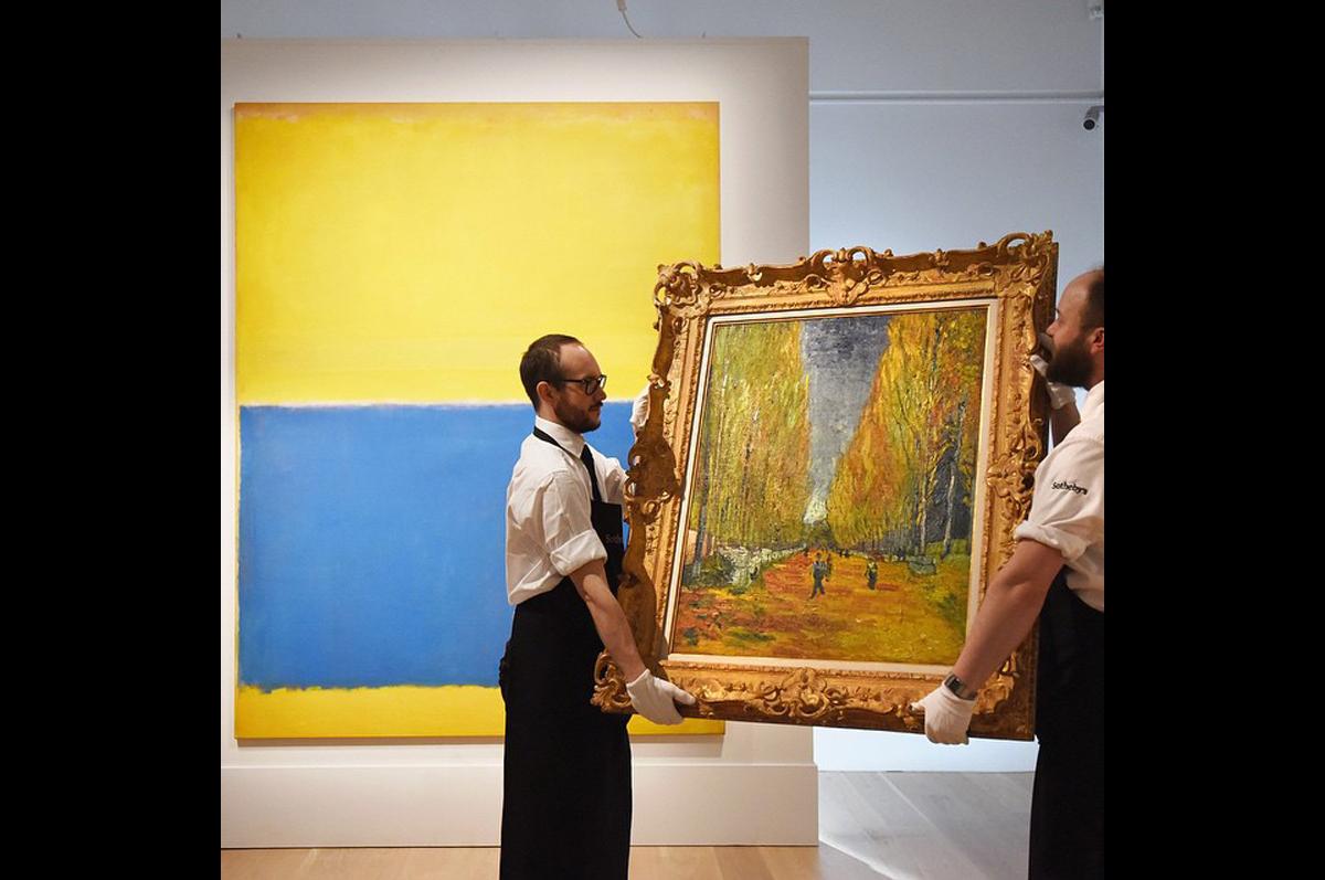 Ротко встретился с Ван Гогом на майских торгах Sotheby′s в Нью-Йорке / фото @sothebys, официальная страница аукционного дома в instagram
