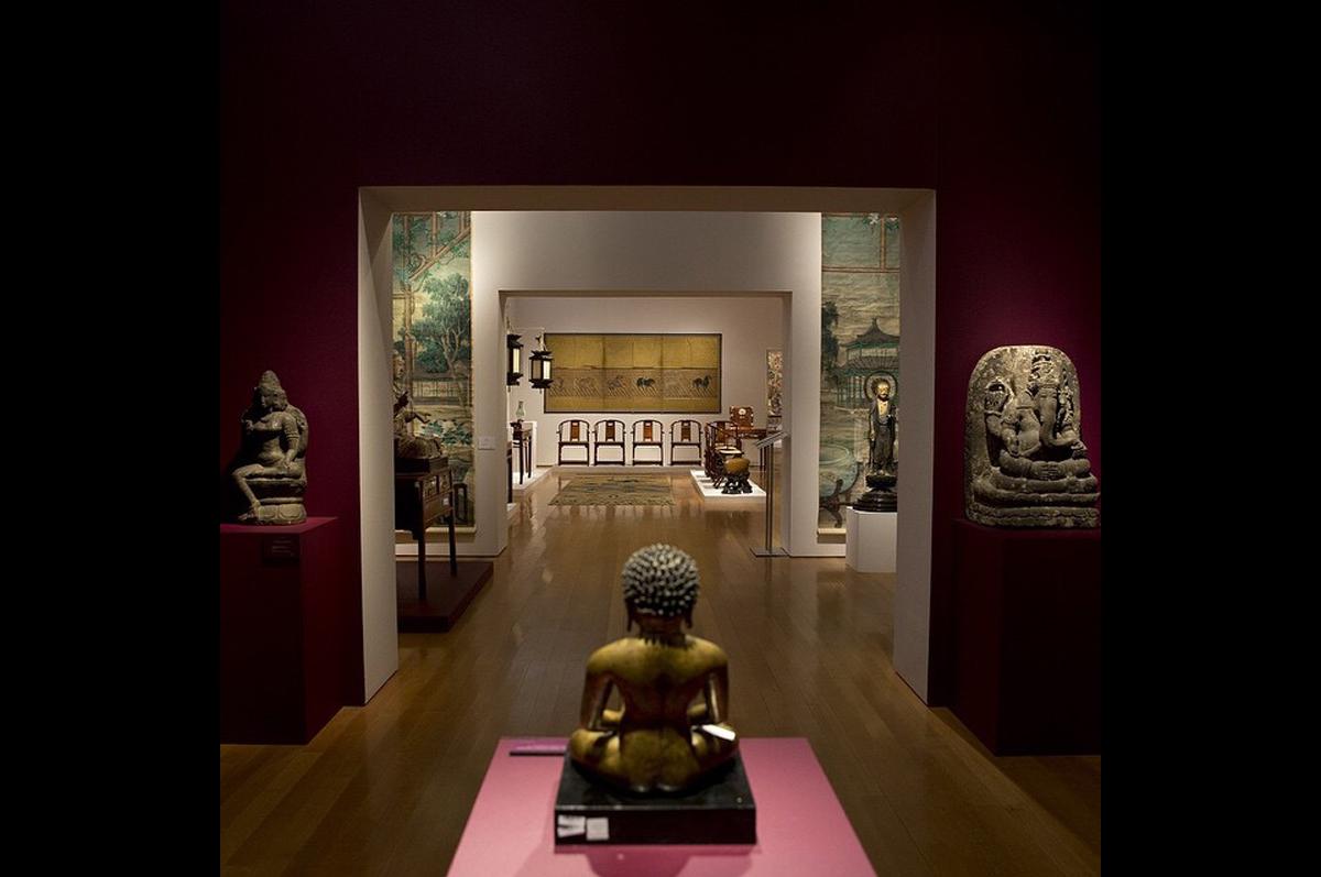 Азиатское искусство от Christie′s в галерее Рокфеллер-плаза / фото @christiesinc, официальная страница аукционного дома в instagram