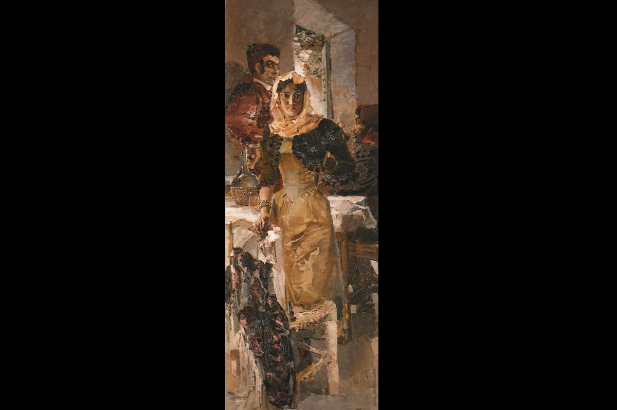 «Испанка» Михаила Врубеля, 1894. Государственная Третьяковская галерея, Москва.