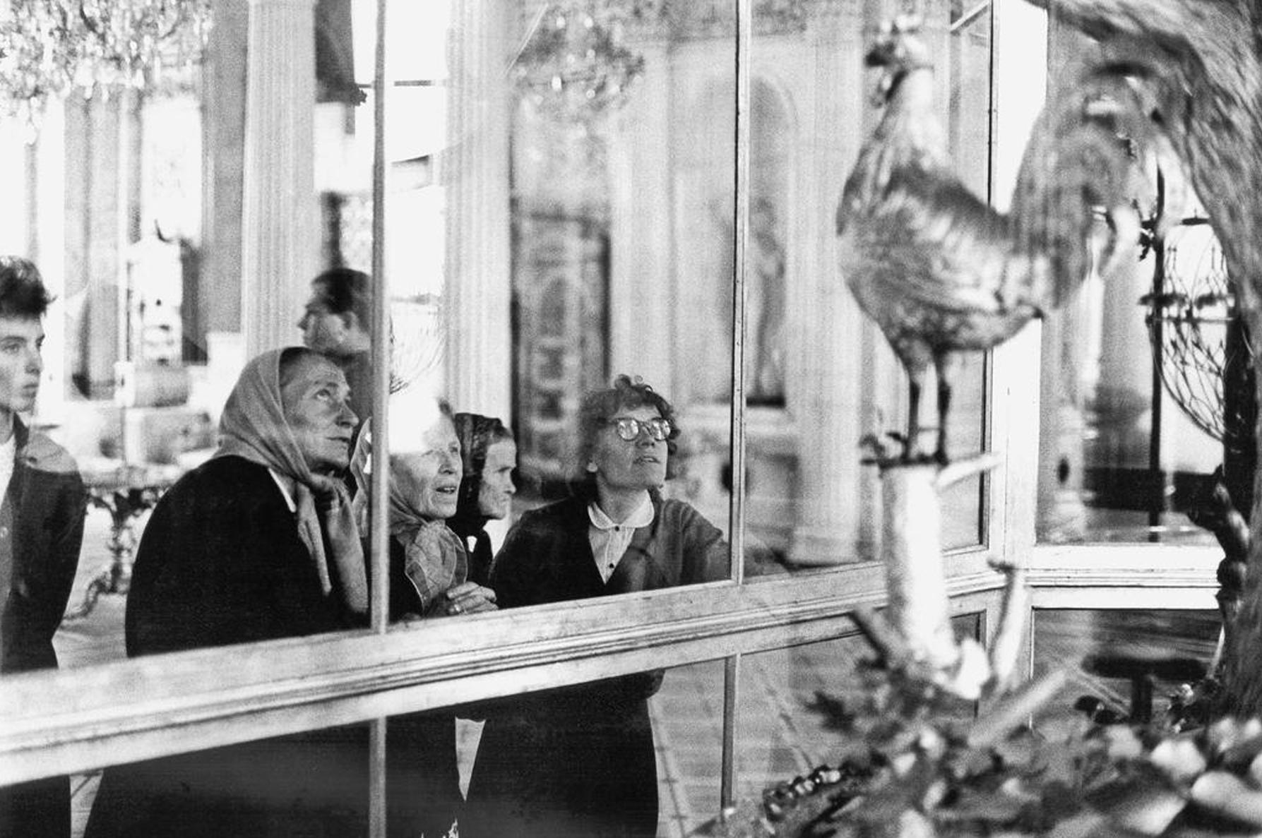 Томас Хепкер. Крестьянки в Эрмитаже. Санкт-Петербург. 1965