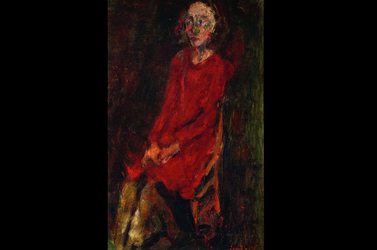 Хаим Сутин. «Молодая женщина в красном», ок. 1929