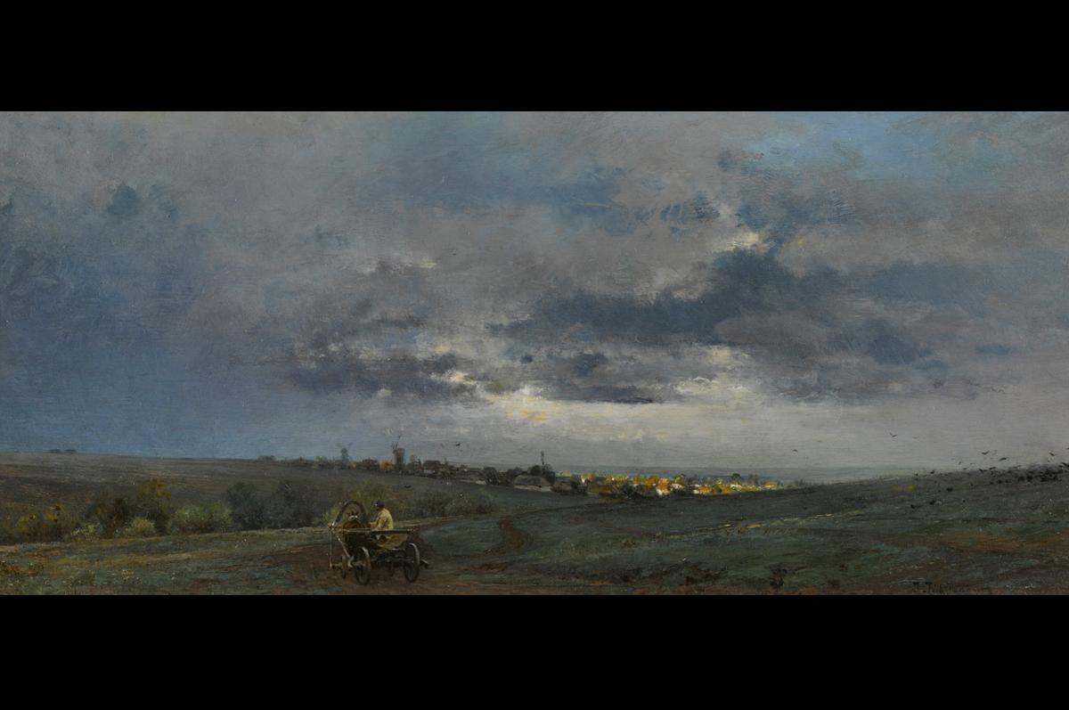 Иван Похитонов. «Вечер. Украина», ок. 1880