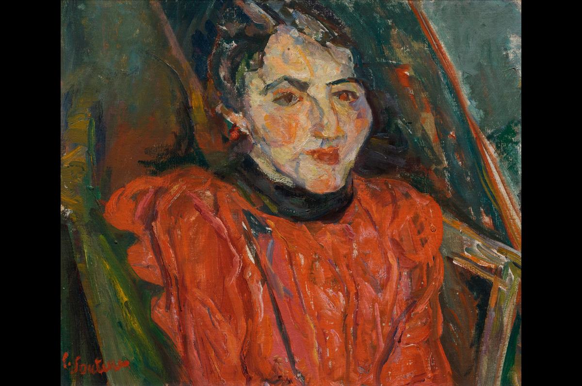 Хаим Сутин. «Портрет мадам Икс. Портрет Розы», ок. 1919
