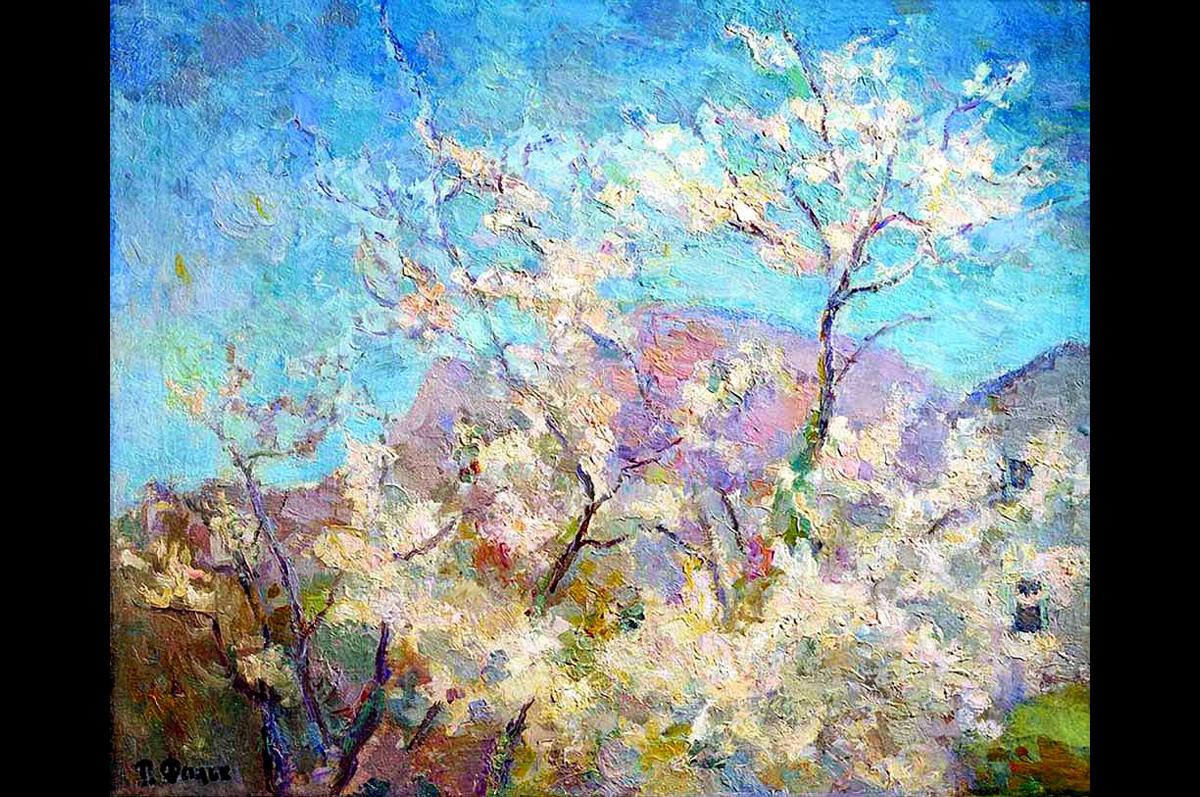 Роберт Фальк. Весна в Крыму, 1938