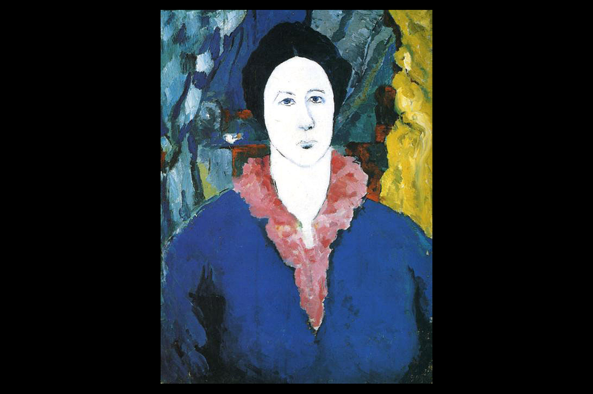 Казимир Малевич. Синий портрет, 1930. Холст, масло / Государственный Русский музей, Санкт-Петербург