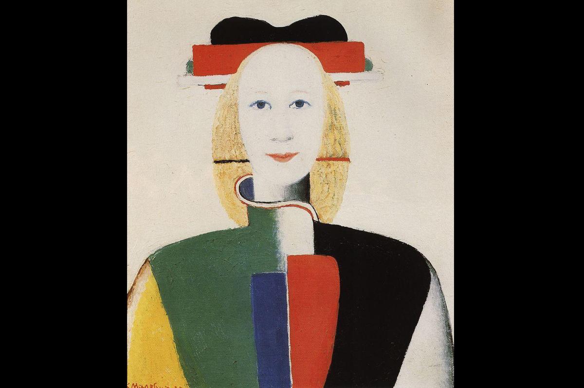 Казимир Малевич. Девушка с гребнем в волосах, 1932. Холст, масло / Государственная Третьяковская галерея, Москва