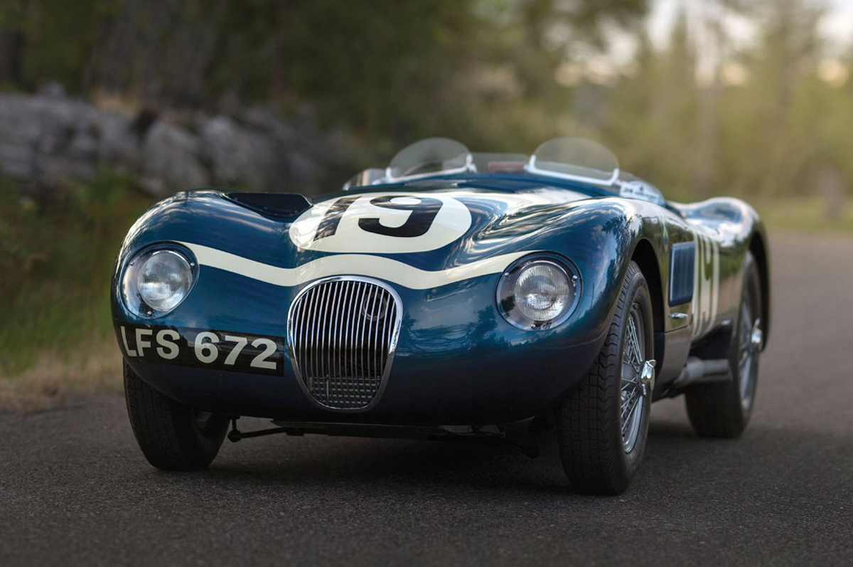 Jaguar C-Type Works Lightweight 1953 года