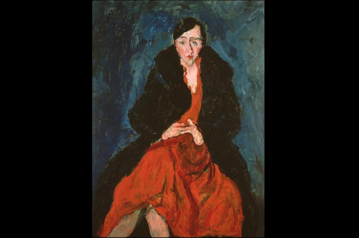Хаим Сутин. «Портрет Мадлен Кастен», 1929