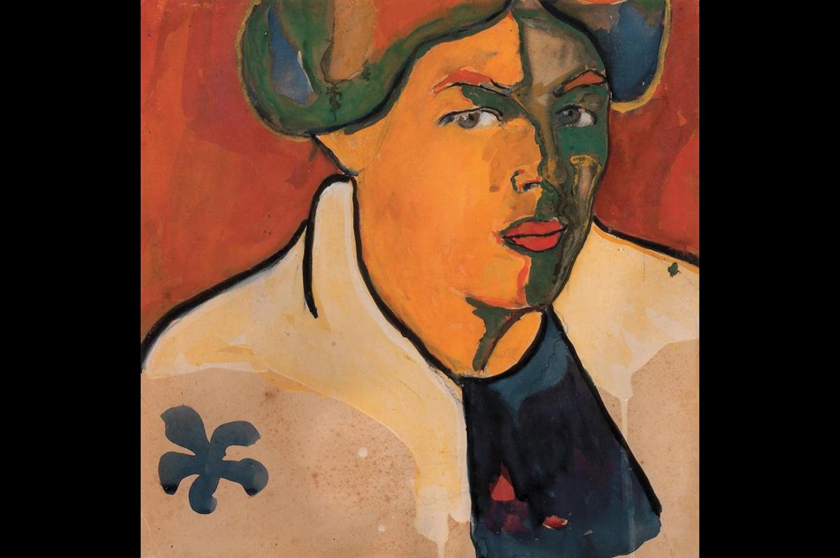 Казимир Малевич. Портрет, 1910