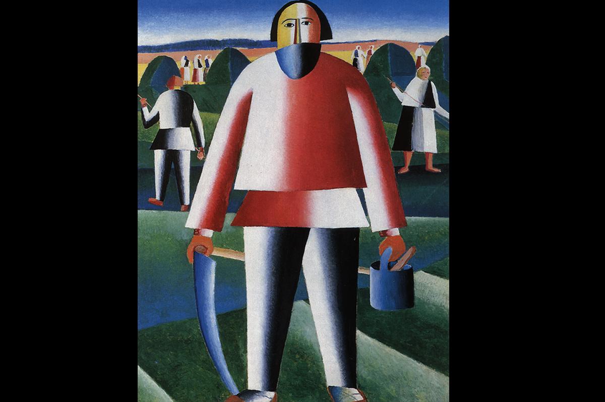 Казимир Малевич. На сенокосе, 1929 / © Государственная Третьяковская галерея, Москва