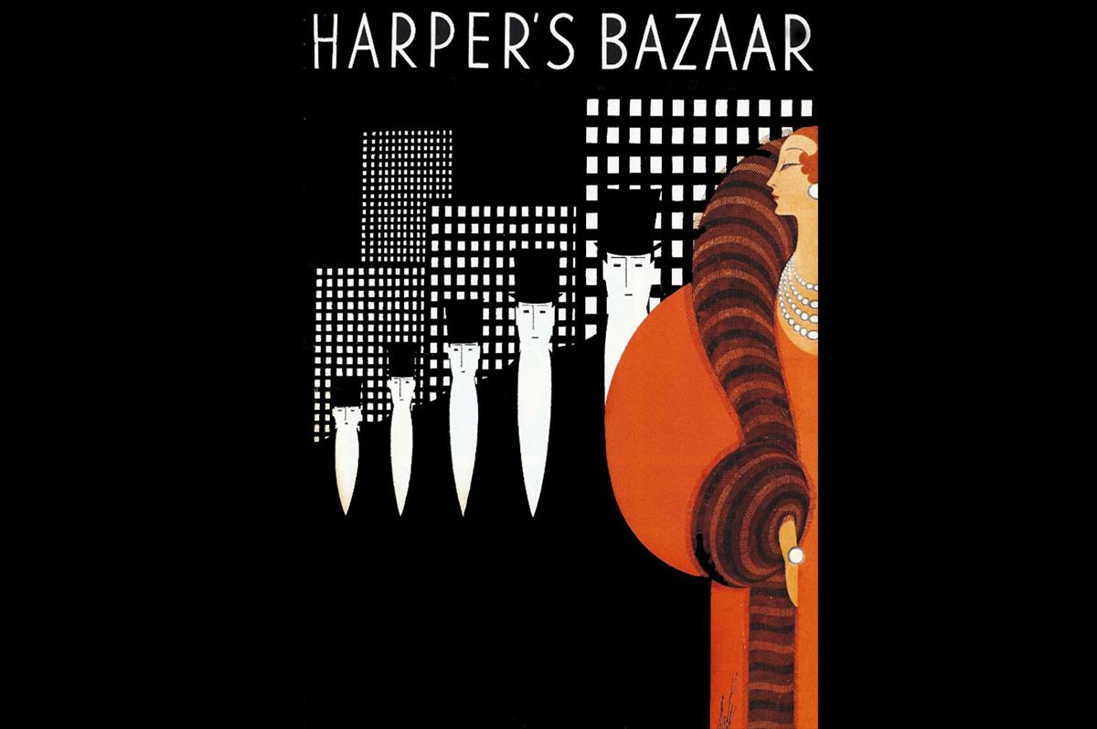 Эрте. Культовая обложка «Harper's Bazaar», ноябрь 1933