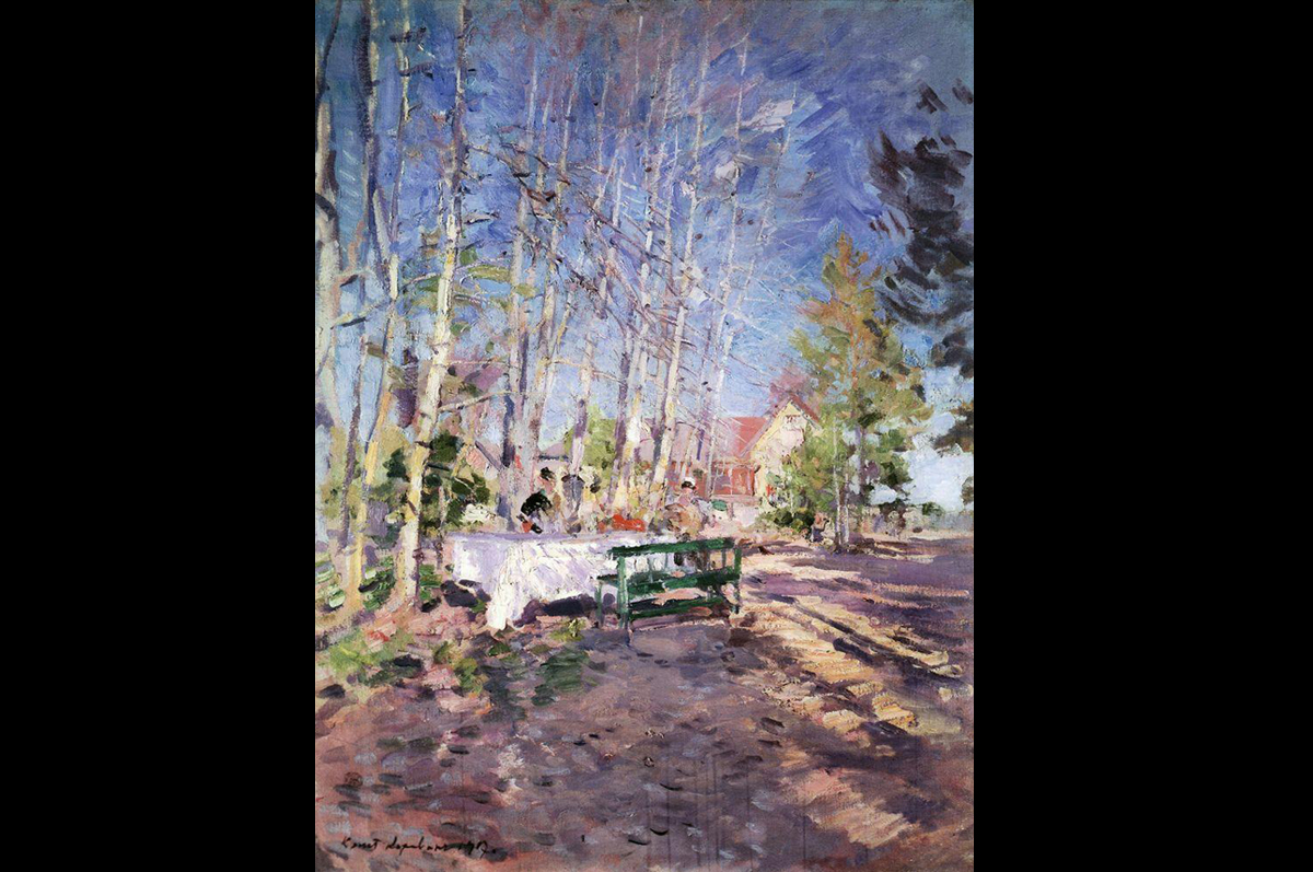 Константин Коровин. Весна, 1917