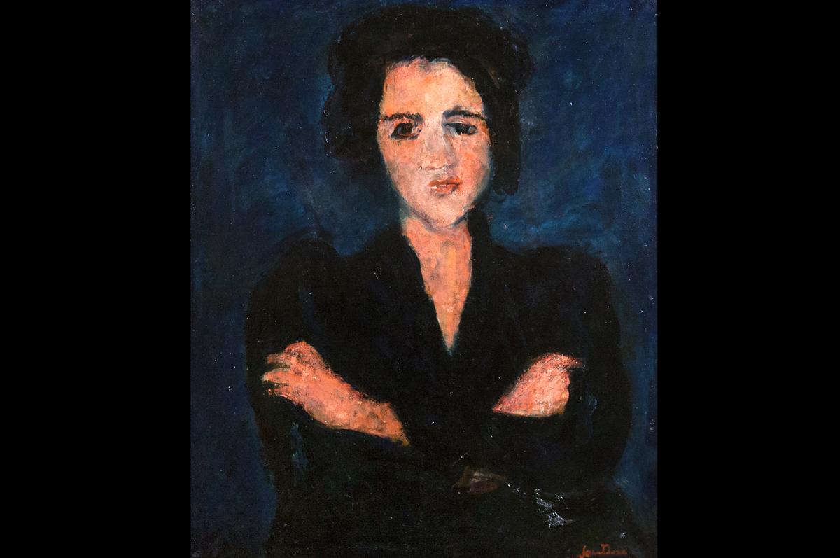 Хаим Сутин. Ева, 1928