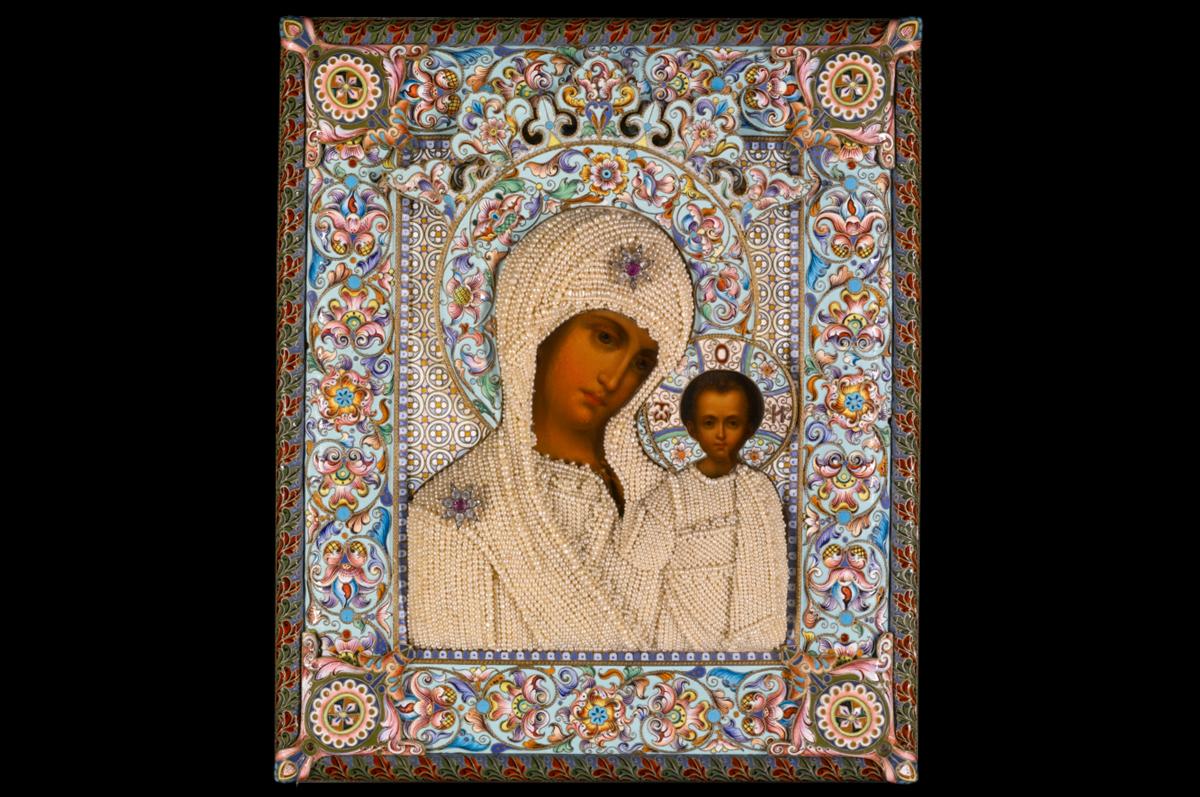 Икона Казанской Божией Матери работы Дмитрия Смирнова