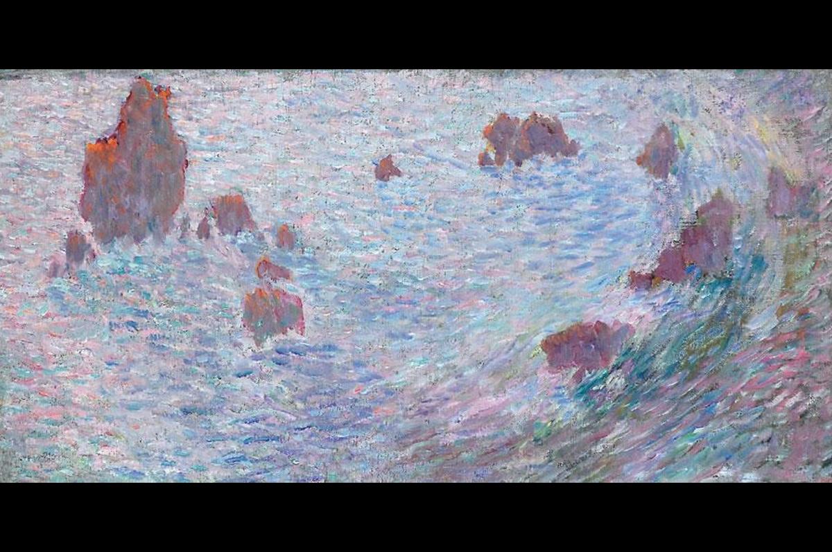 Закат на Черном море. Михаил Ларионов 1902-1905