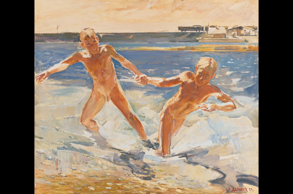 Александр Дейнека. «В Донбассе», 1954