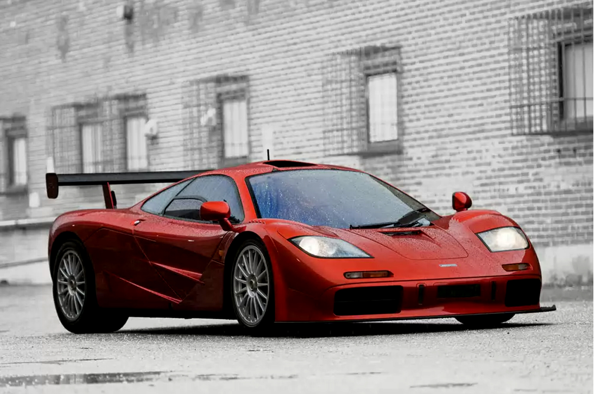 McLaren F1 'LM-Specification' 1998 года