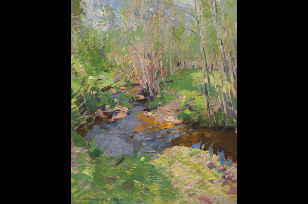 Константин Коровин. «Лесной ручей», 1900-е